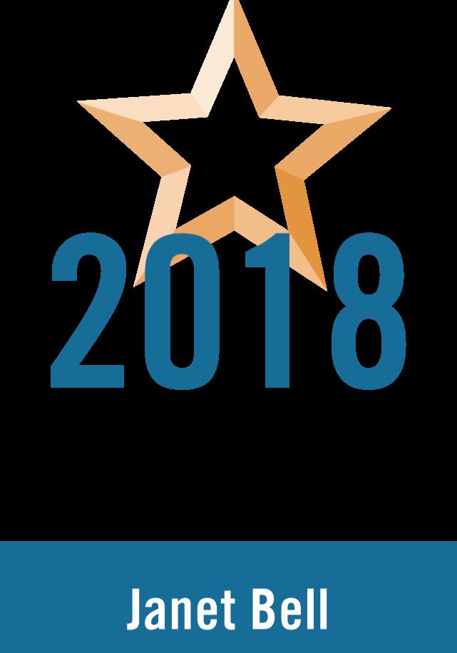 2018 Rising Star Emblem Vertical
